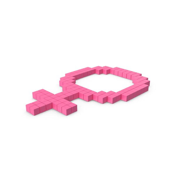 Female Gender Icon Pink