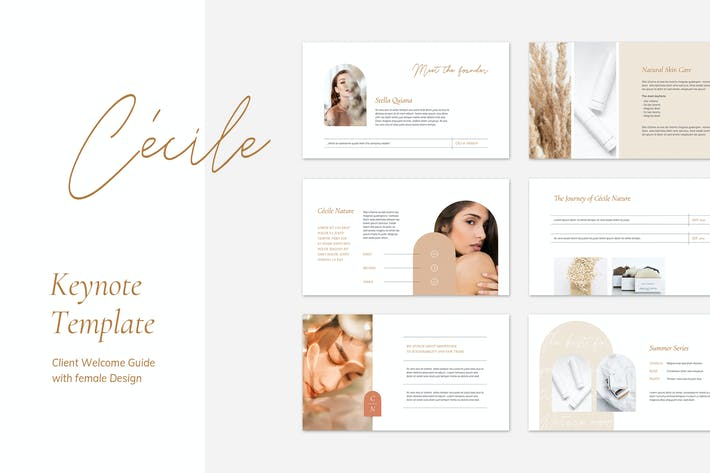 Thumbnail for CÉCILE Keynote Client Welcome Guide