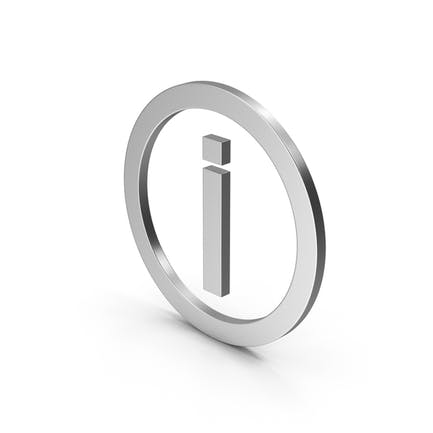 Symbol Inverted Exclamation Mark Silver