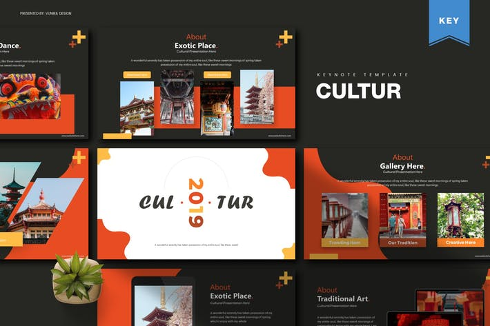 Thumbnail for Cultur | Keynote Template