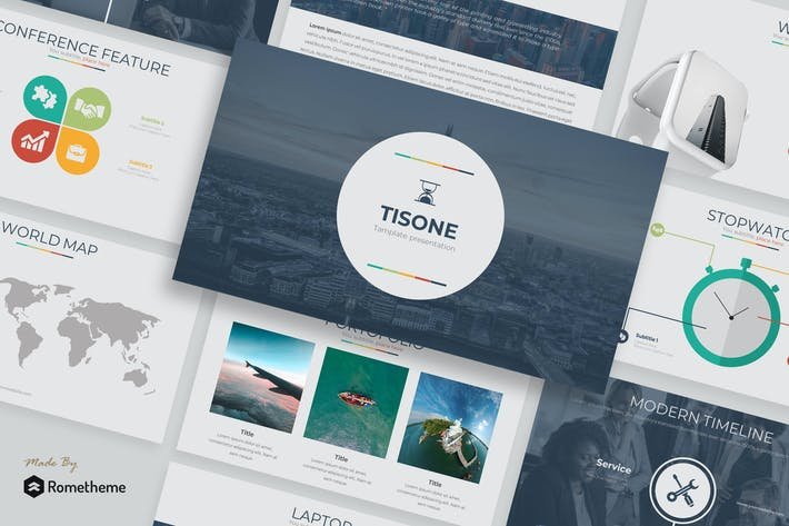 Thumbnail for Tisone - Powerpoint Template TS