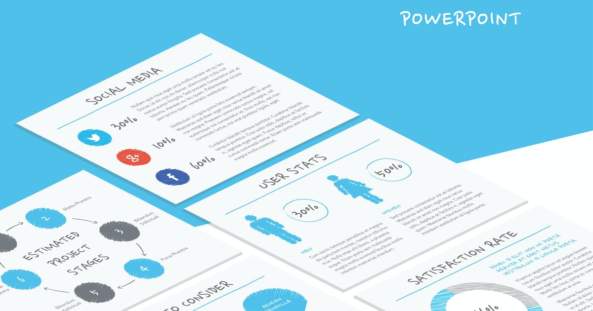 Download Idea Sheet PowerPoint Template by Unknow