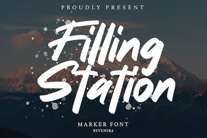 Thumbnail for Station de remplissage | Marker Font