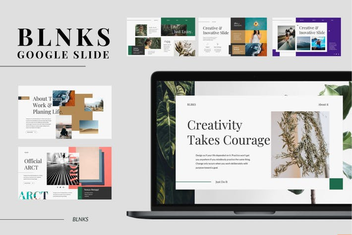 Thumbnail for BLNKS Google Slide Template
