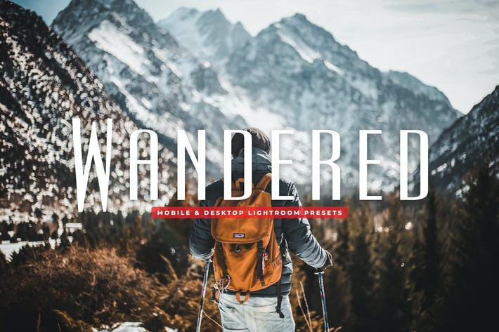Thumbnail for Wandered Mobile & Desktop Lightroom Presets