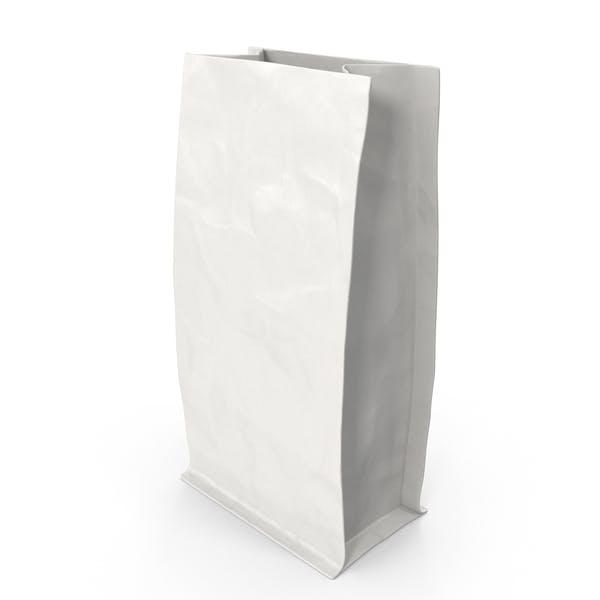 Thumbnail for Flat Bottom Pouch 113g Open White