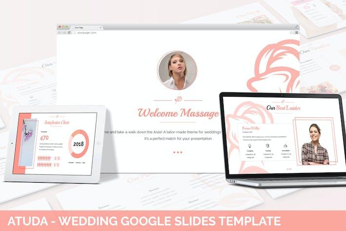Cover Image For Atuda - Wedding Google Slides Template