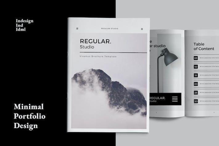 Thumbnail for Regular Portfolio Design