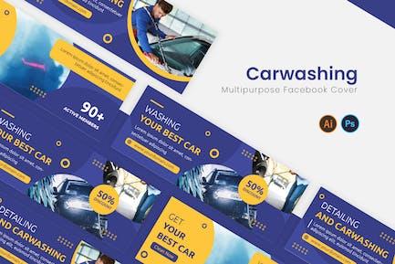 Detail Carwashing Facebook Cover