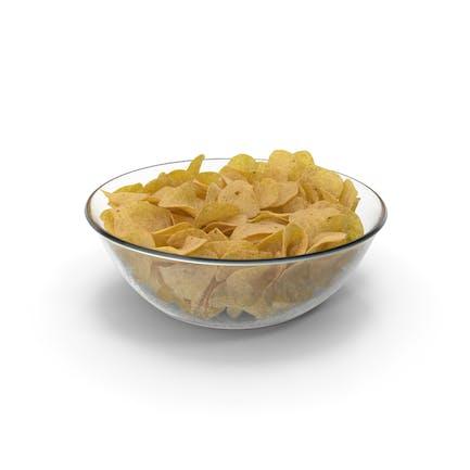 Миска с картофельными чип