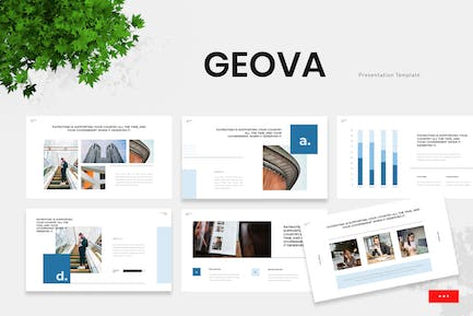 Geova - Government Institution Powerpoint Template