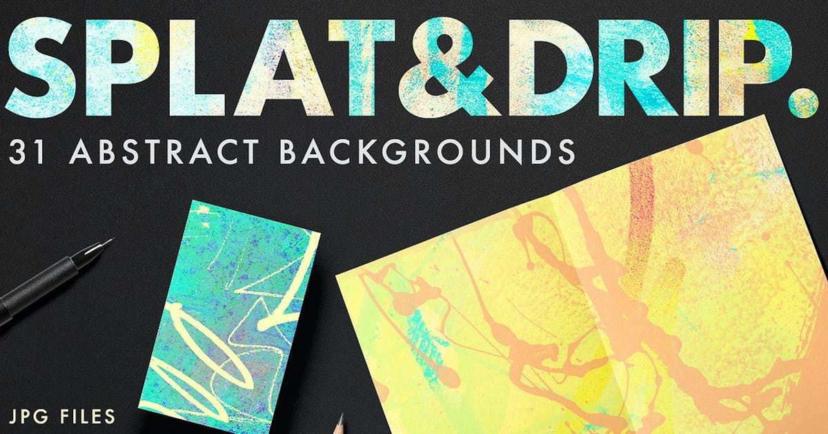 Download Splat & Drip Graffiti Backbgrounds by hughadams