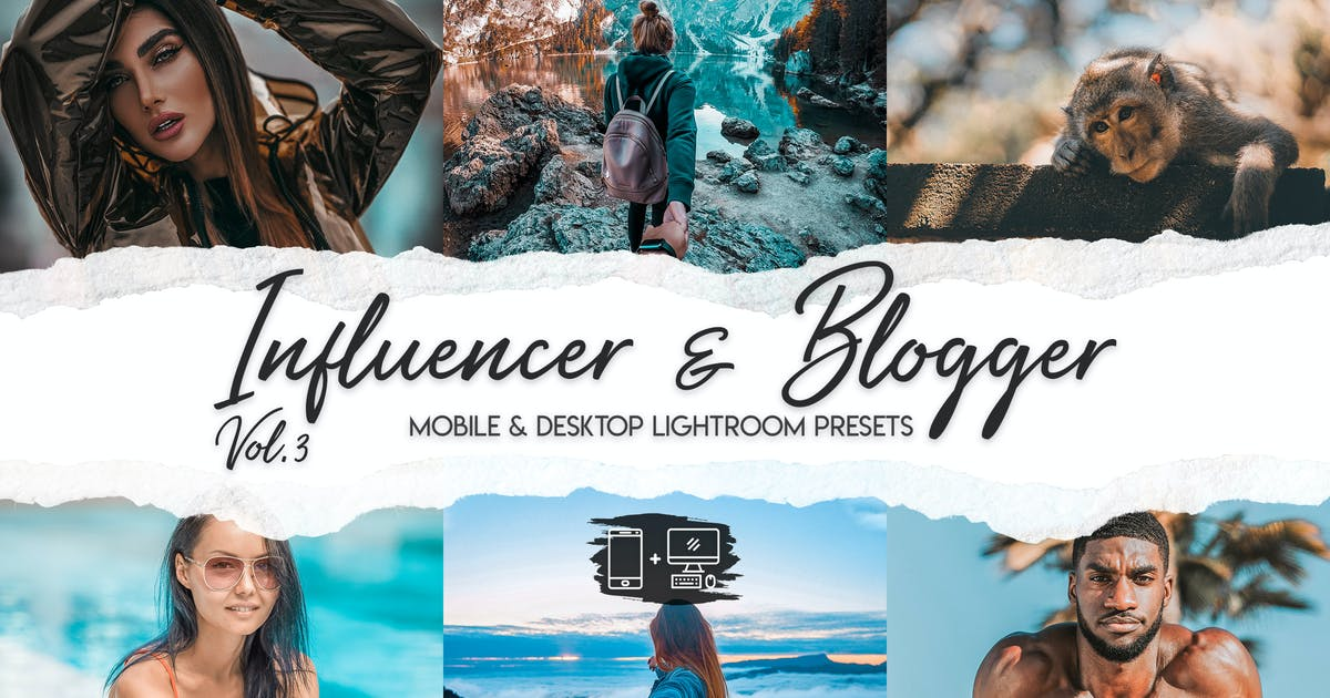 Download Influencer & Blogger Vol. 3 by ClauGabriel