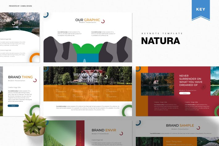 Thumbnail for Natura | Keynote Template