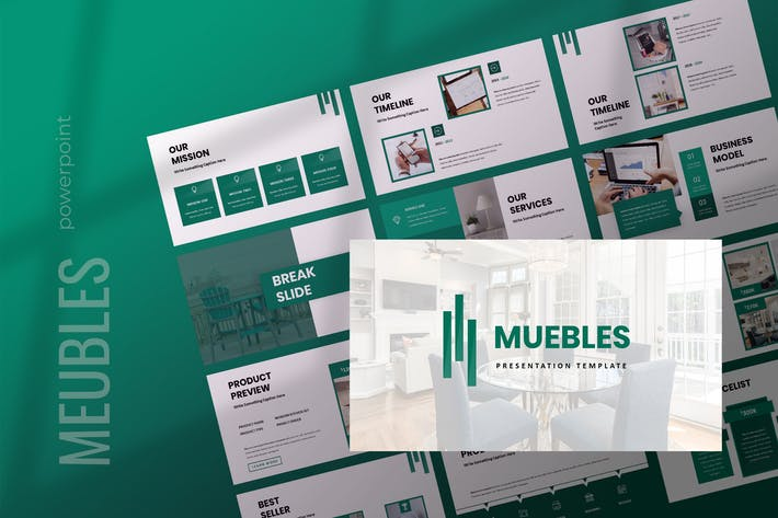 Meubles - Furniture Powerpoint Presentation