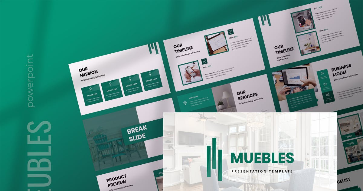 Download Meubles - Furniture Powerpoint Presentation by TMint