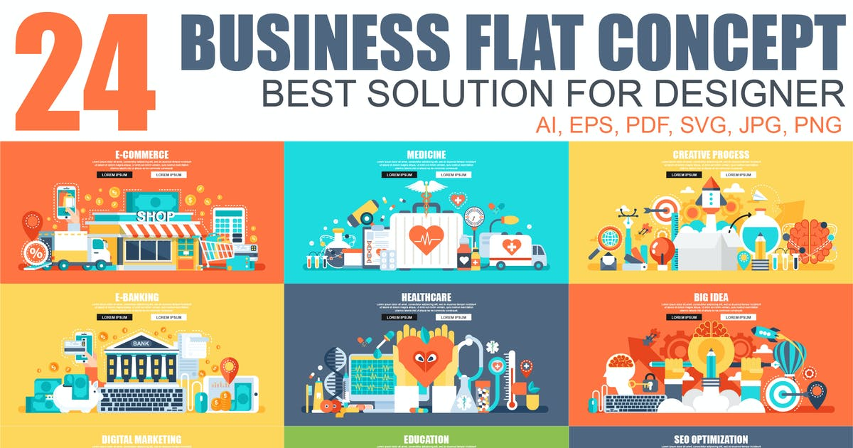 Download Flat Concepts by alexdndz