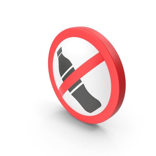 Знак «Без напитков»