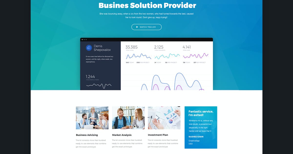 Download Bizco - Business & Corporate HTML Template by CreativeGigs