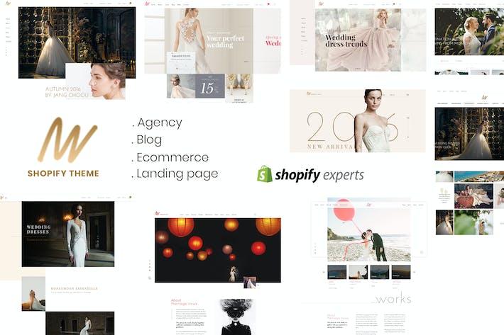 Thumbnail for The VOW | Wedding Responsive Shopify Theme
