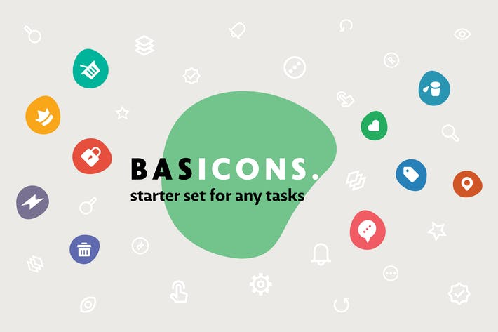 Thumbnail for Basic — 500 Line and Solid Icons