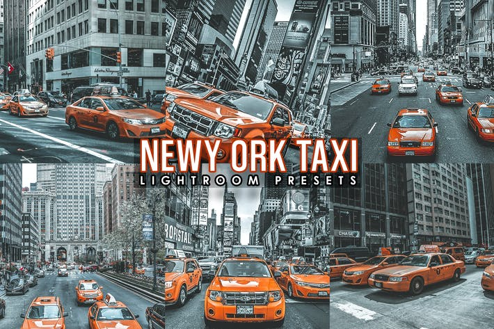 Street Taxi Cinematic lightroom presets