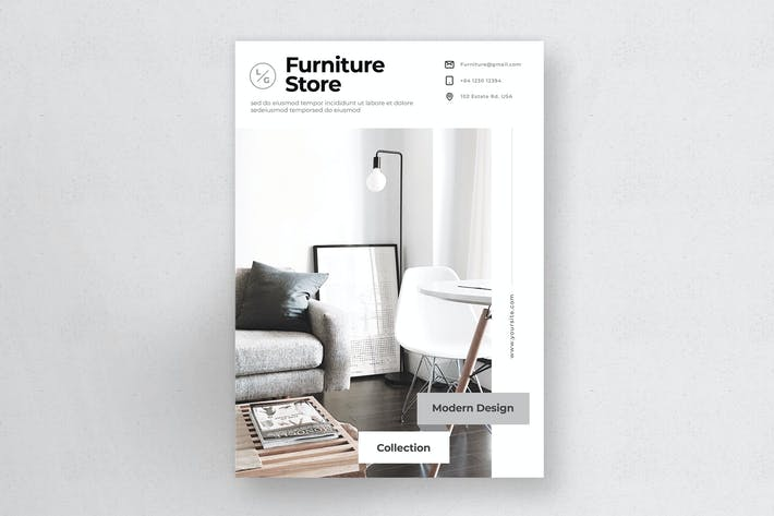 Cover Image For Furniture Flyer Vol.3