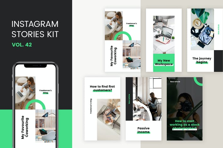 Thumbnail for Instagram Stories Kit (Vol.42)