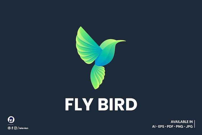 Fly Bird logo template