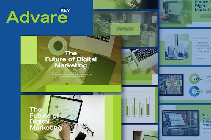 Thumbnail for Advare - Digital Agency Keynote Template