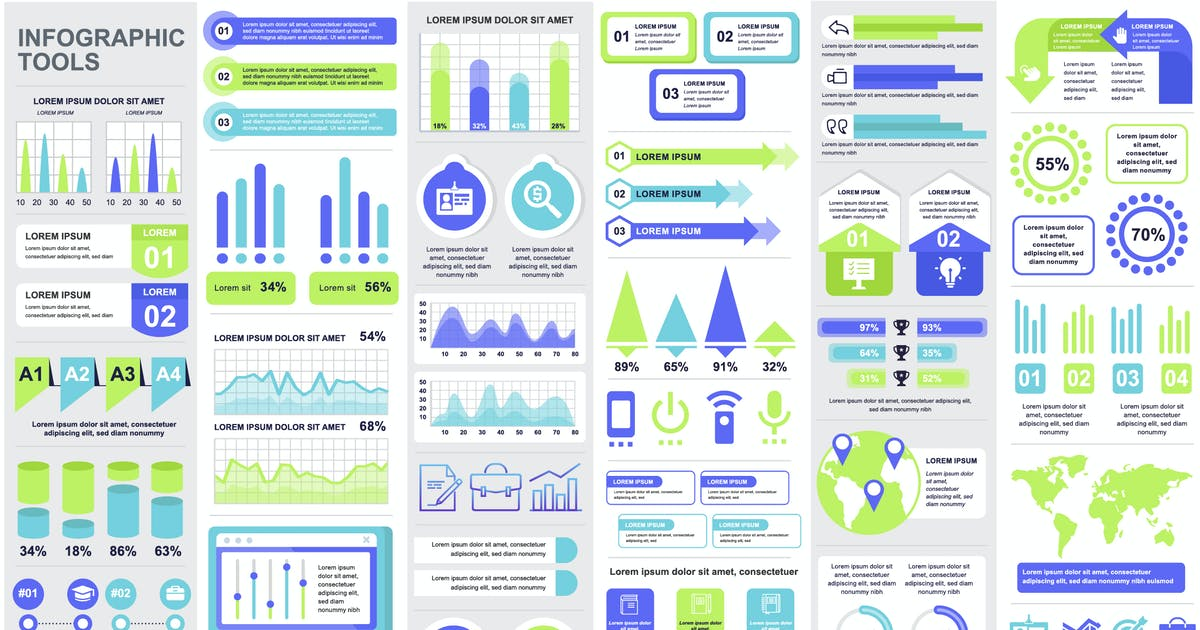 Download Financial Infographics Template by alexdndz