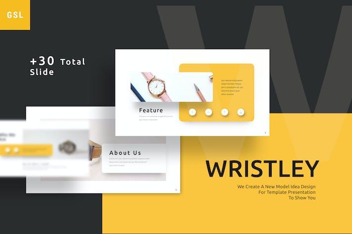 Wristley - Elegant Google Slides Template
