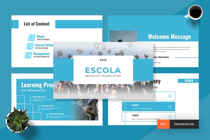 Thumbnail for Escola - Education Powerpoint Presentation