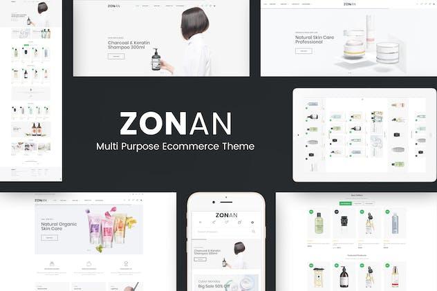 Zonan - Responsive OpenCart Theme