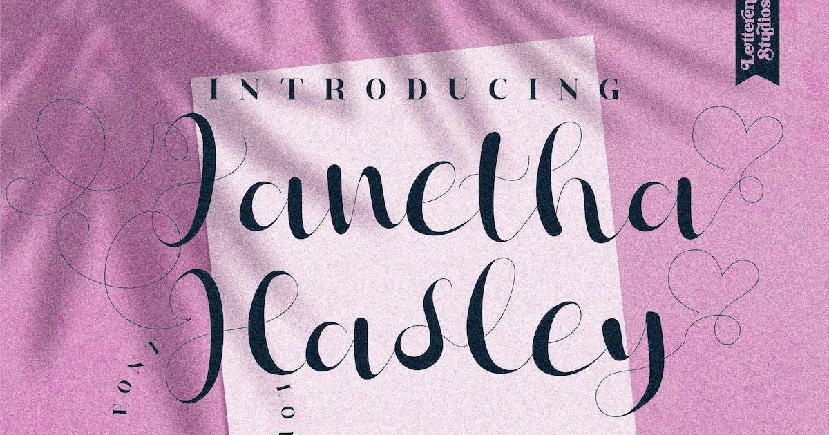 Download Janetha Hasley Script LS by GranzCreative