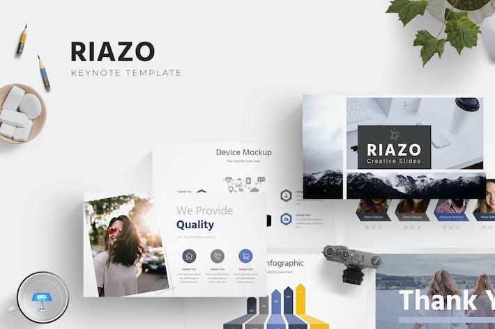 Thumbnail for Riazo - Keynote Template