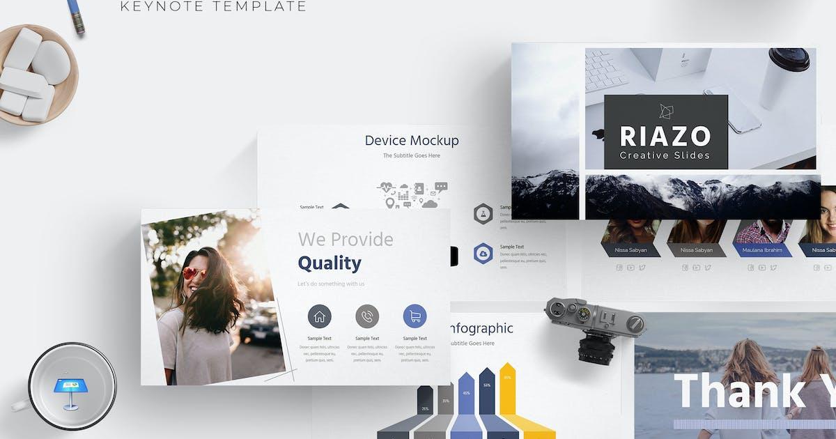 Download Riazo - Keynote Template by aqrstudio