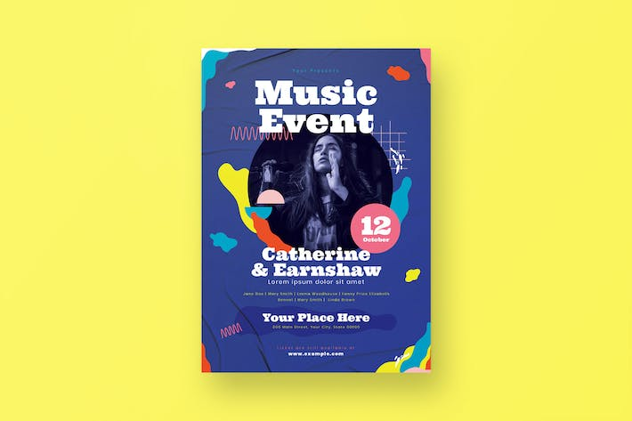 Thumbnail for Musik-Event-Flyer