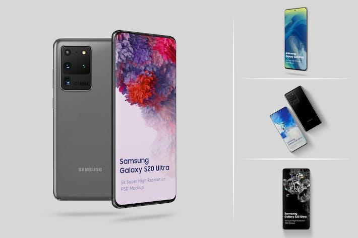 Thumbnail for Samsung Galaxy S20 Ultra Mockup 1.0