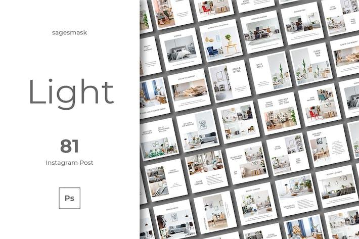 Thumbnail for 81 Light Instagram Post