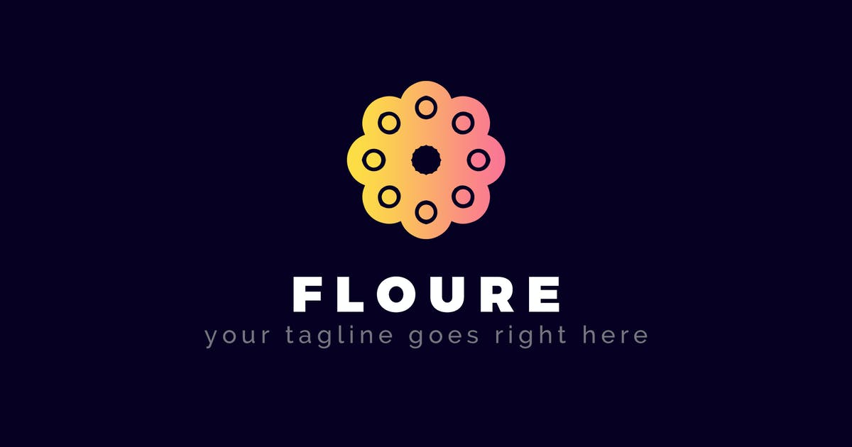 Download Floure - Abstract Logo Template by ThemeWisdom