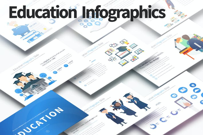 Thumbnail for EDUCATION - PowerPoint Infographics Slides