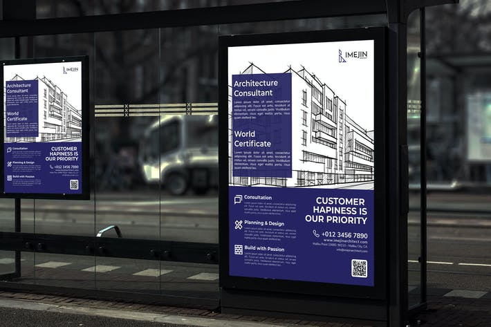 Thumbnail for Imejin Architect - Business Poster RB