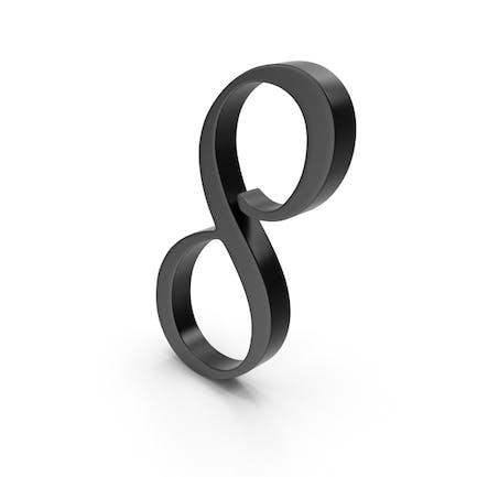 Number 8 Black