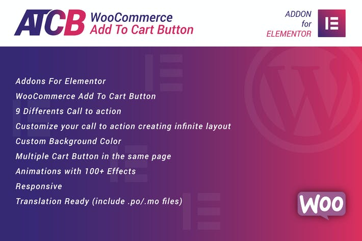 Thumbnail for WooCommerce In den Warenkorb Button für Elementor