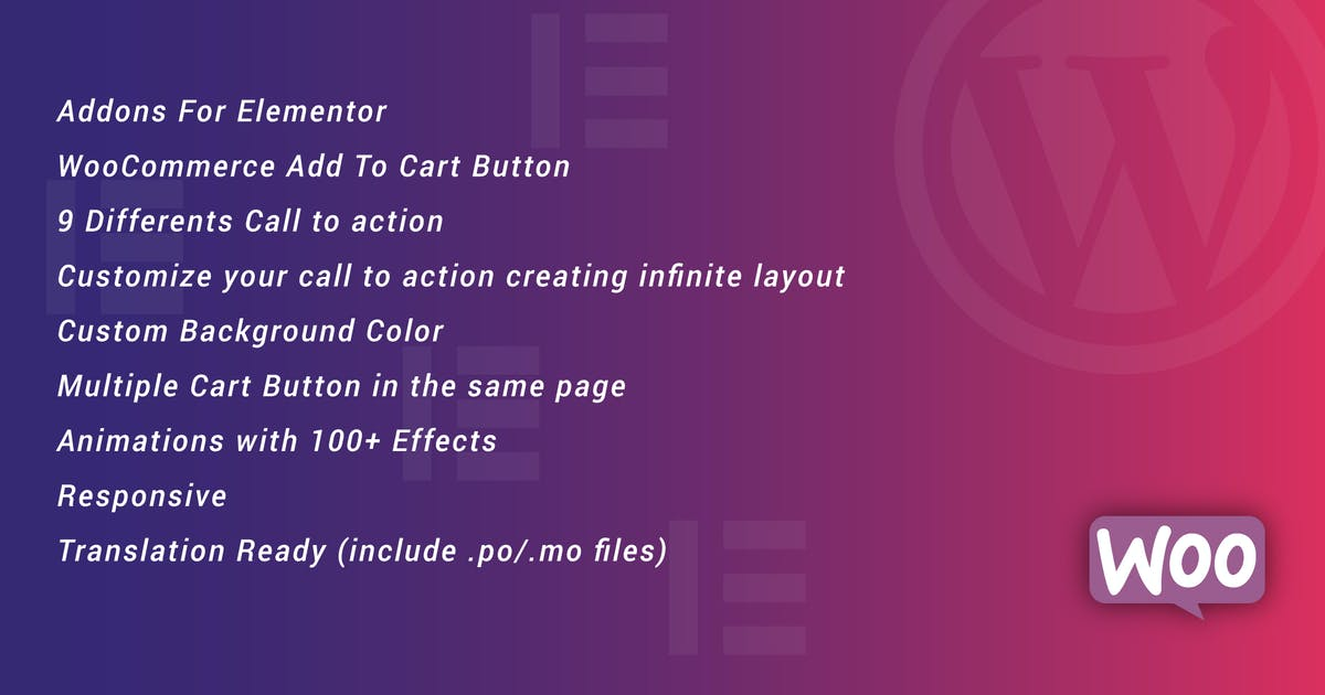 Download WooCommerce Add To Cart Button for Elementor by ad-theme
