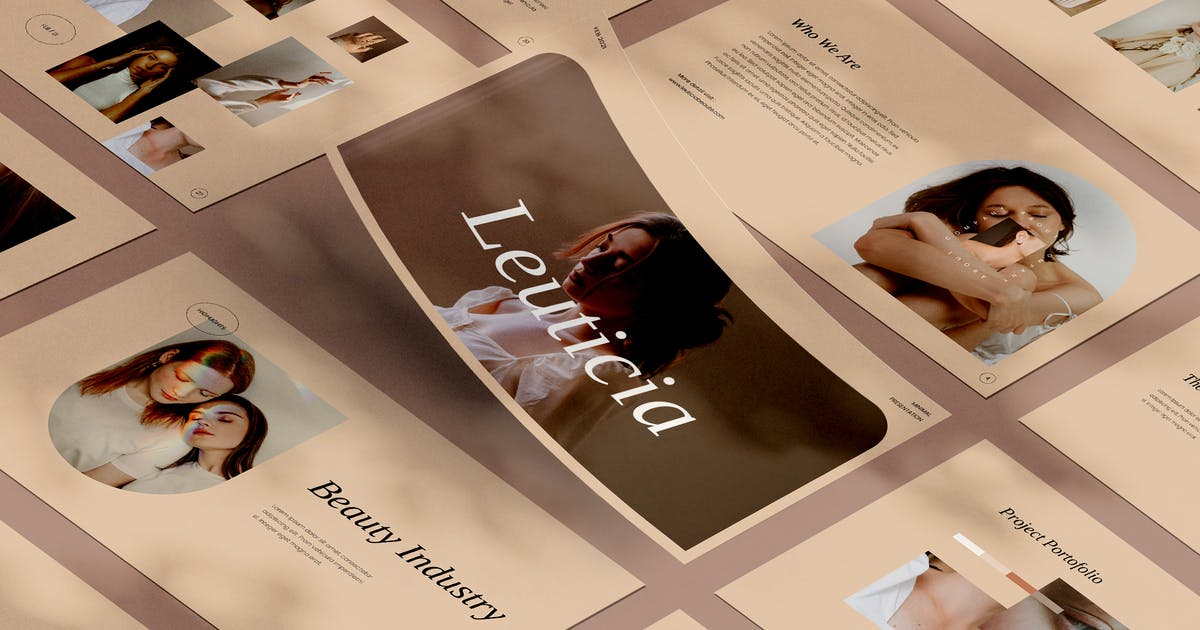 Download Leuticia Powerpoint by visuelcolonie
