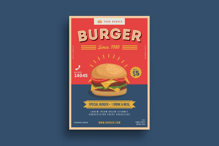 Thumbnail for Burger Poster