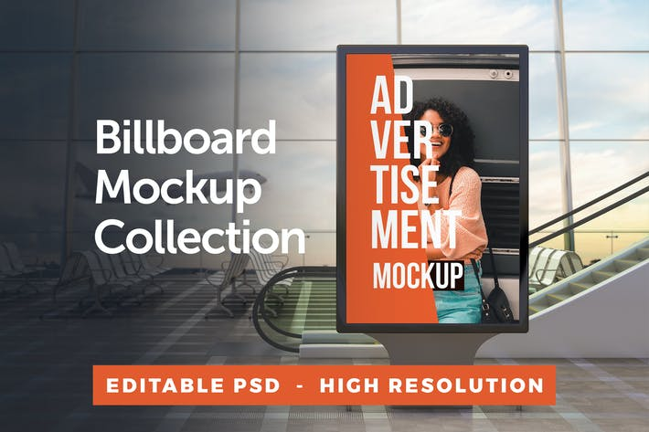 Thumbnail for Advertisement Billboard Mockup Collection 2.0