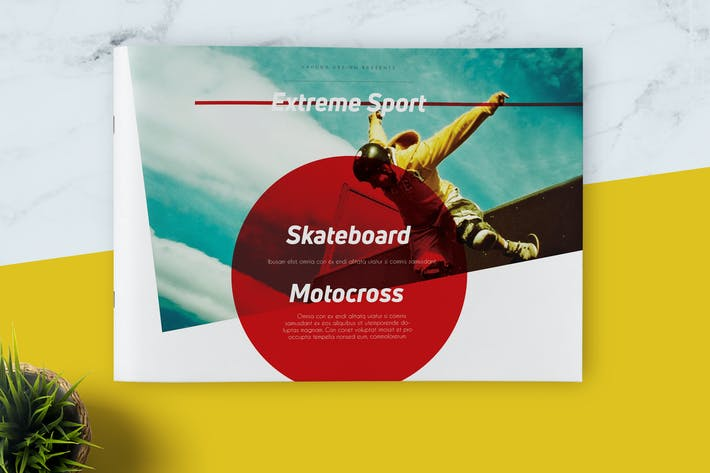 Thumbnail for Extreme Sport Landscape Brochure